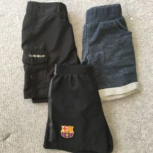 Bundle of 3, Quicksilver & Nike Little Boys Shorts